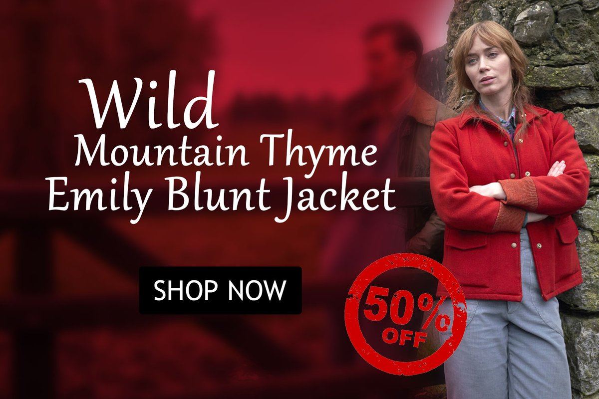 Wild Mountain Thyme Emily Blunt Jacket Order Now>> 🔥Follow Us, Like & Share To Win #gifts  #WildMountainThyme #EmilyBlunt #Rosemary #wool #celebrity #women #sale #discount #ordernow #onlineshopping #Discounts #WINTER #TheLockdownAwards #onlinemarketing