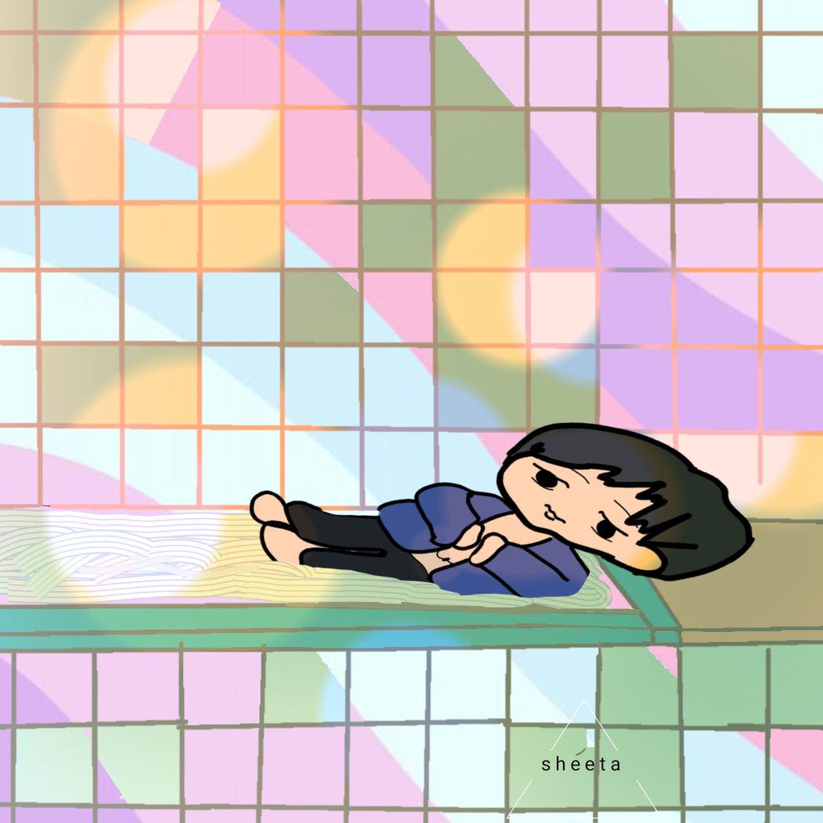 bathtub on sunday ❌❌ chibi version liltachi scene last night  #sketching #sketch #drawing #drawingoftheday #drawingart #fanart  #artwork  #art #artoftheday
