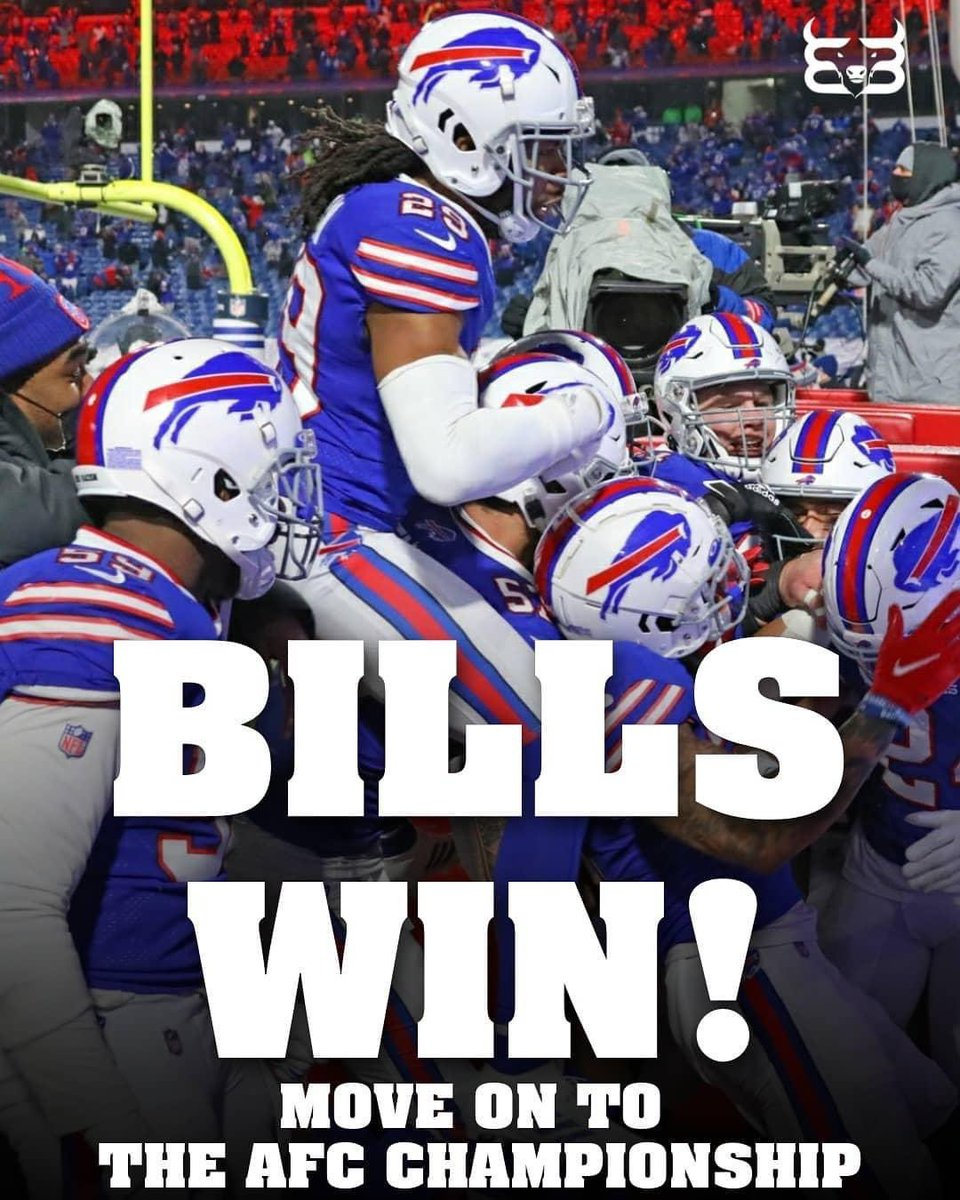Woohoo. The Bills did it. 17-3. Onto the AFC championship game!!! Who will we play Kansas City Chiefs or Cleveland Browns. #BillsMafia  #billswin #WonNotDone #LetsGoBills