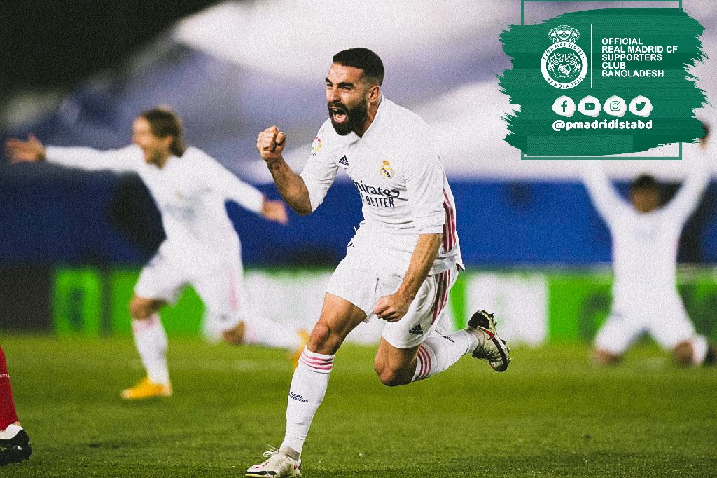 There's one common thing in all the games Real Madrid have lost this season: Carvajal was injured and didn't play. He's become one of the most important players of the team.  #HalaMadrid | #MadridistaBD