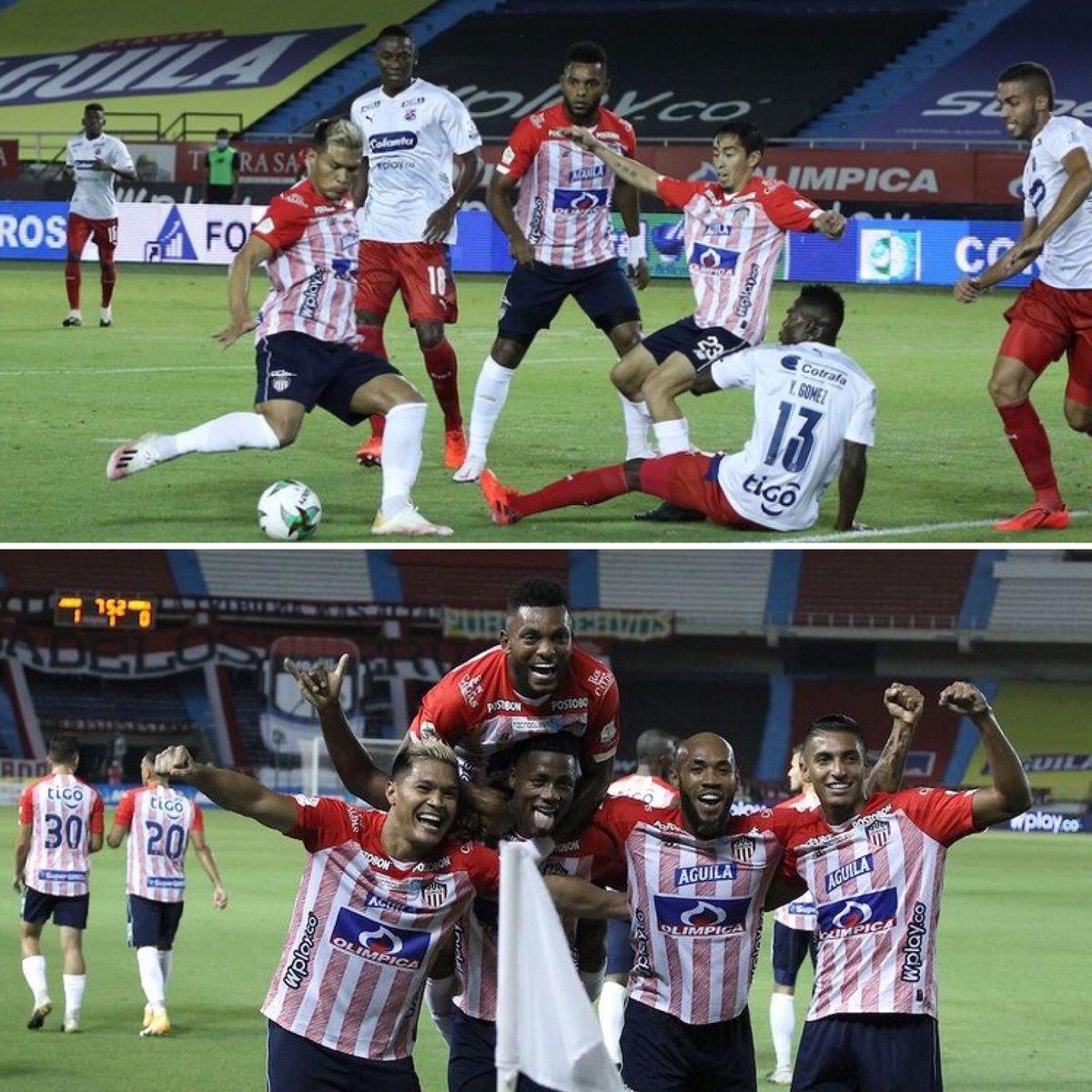 ¡VICTORIA TIBURONA 🦈! Junior de Barranquilla ❤️ ganó por la mínima diferencia de local en el estadio 🏟 Metropolitano ante Medellín 🤍 por la fecha 1 de la Liga Betplay 2021 🏆. . . . #juniordebarranquilla #independientemedellin #colombia #futbol #ligabetplay #futbol_colombia10