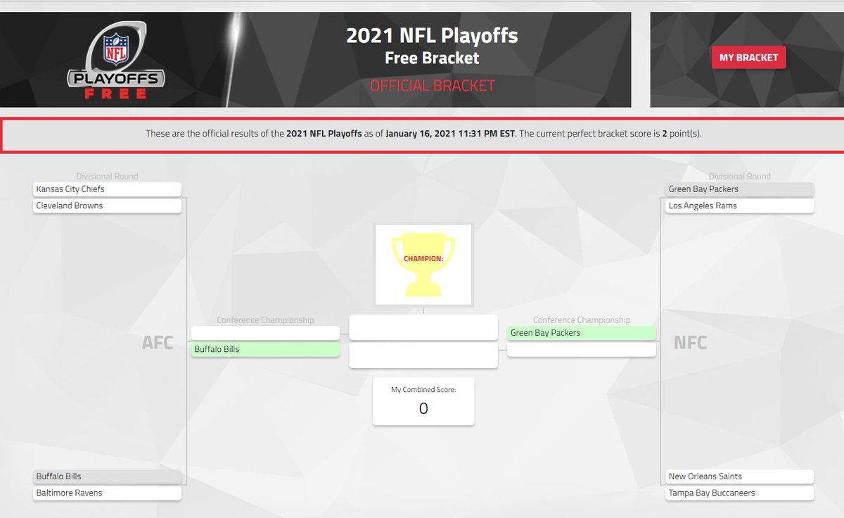 If you picked the Bills and the Packers to advance in the NFL Playoffs #NitroBrackets, you're on the way to claiming one of the top spots on the leaderboard 🔝  The top 20 players will share the $1,000 prize!  What are your predictions on tomorrow's games? https://t.co/GJjbVSgcNe https://t.co/N0OdZcTRpa