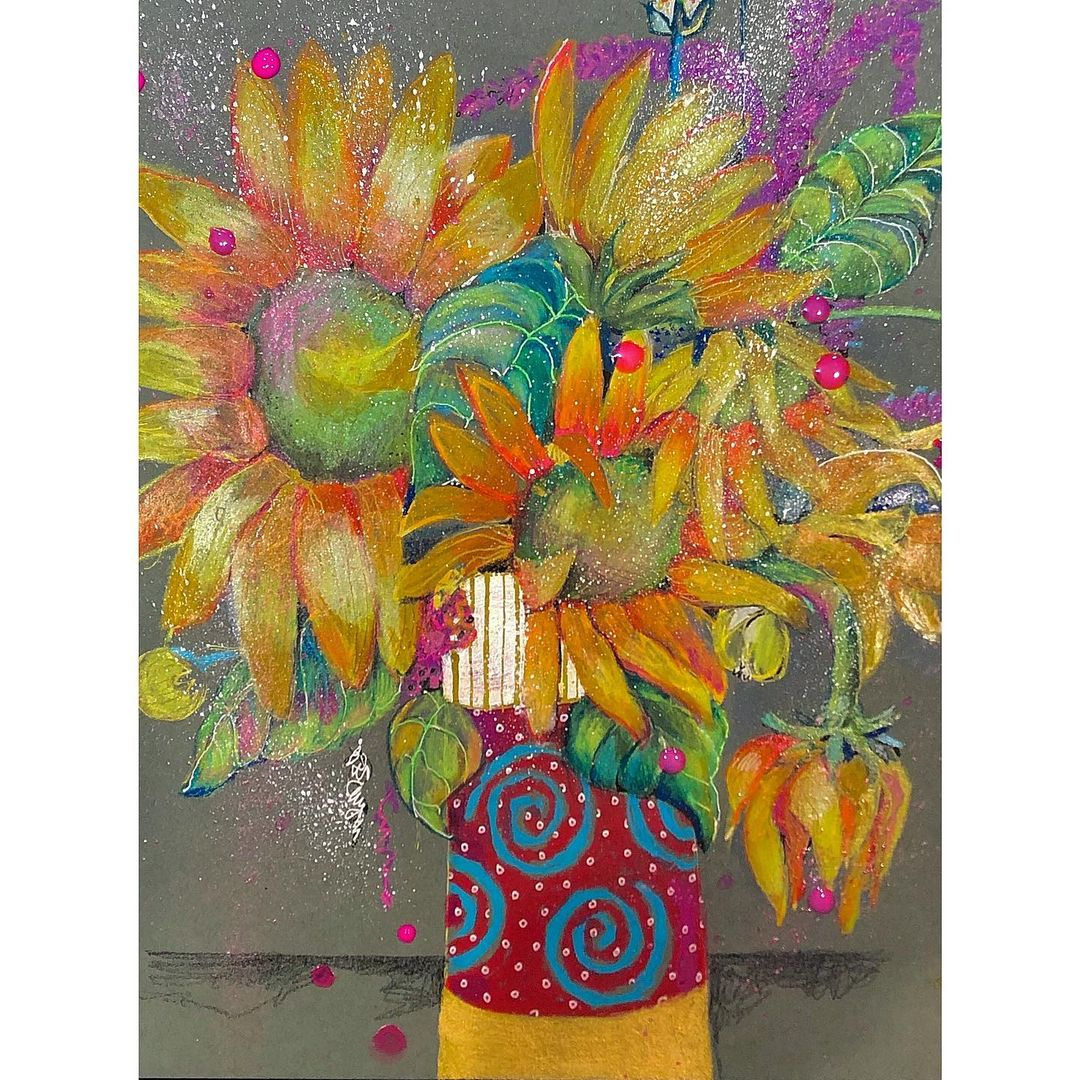 🌟This beautiful art is by @patbutynskiarttalk .  . . #instaart #artsy #artcurator #beautiful #love #canvas #abstract #colours #painting #paintings #art #artistsoninstagram #artistic #artist #artis #artnow #artoftheday #artofinstagram #artwork #artlovers #artlife #artgallery