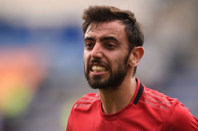 "Bruno Fernandes of being straight to teammates:   ""In Portugal, this is how you play football. This is how you communicate. If you say or do something wrong, I'll tell you about it. I live football like it has to be lived – in the moment."" #LIVMUN #ManUtd #MUFC"