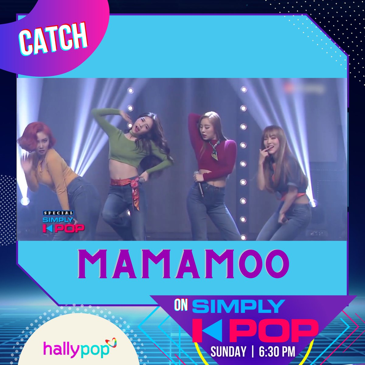 MooMoos, it is going to be a great Sunday for us! See you on #SimplyKPop!