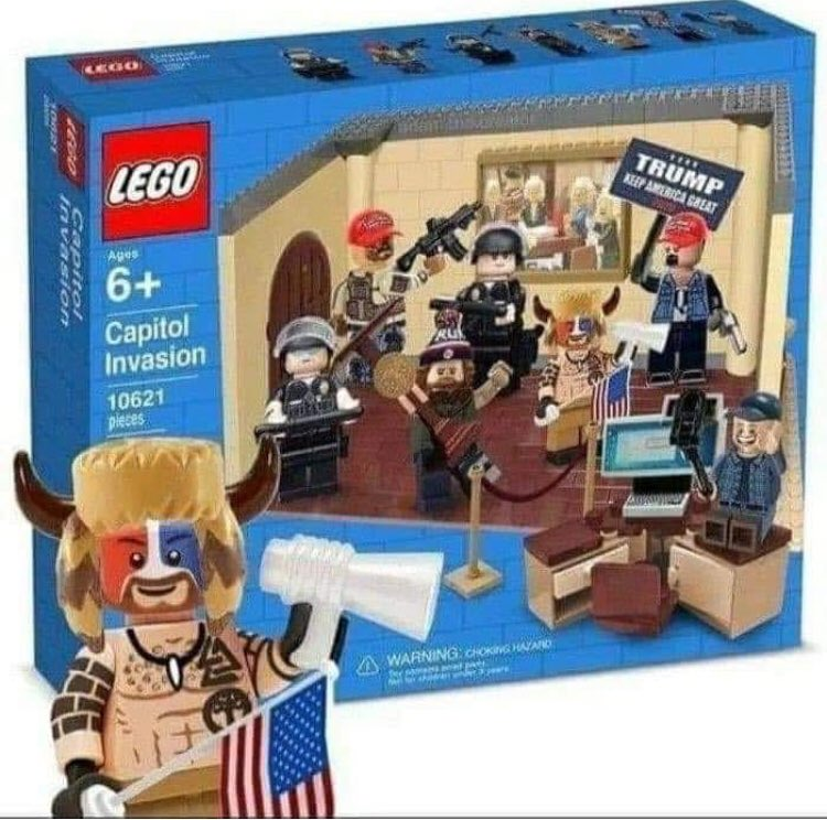 If Only This Actually Existed... It Doesn't! #impeachment #trial #lego #CapitolRiot #CapitolBuilding #WashintonDC #DonaldTrump #PresidentBiden #democracy #RepublicansDontCare #votestrawberry #for #america #strawberryman 🍓