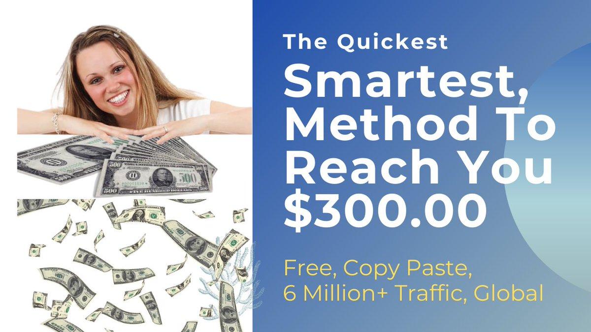 Quickest ClickBank Earning Strategy To Reach You $300, Affiliate Marketi...  via @YouTube  #makemoneyfast #makemoneyonline #makemoney #makemoneyfromhome #makemoneyathome #makemoneydaily #makemoneynow #makemoremoney #makemoneyonlinefree #makemoneyonlinenow