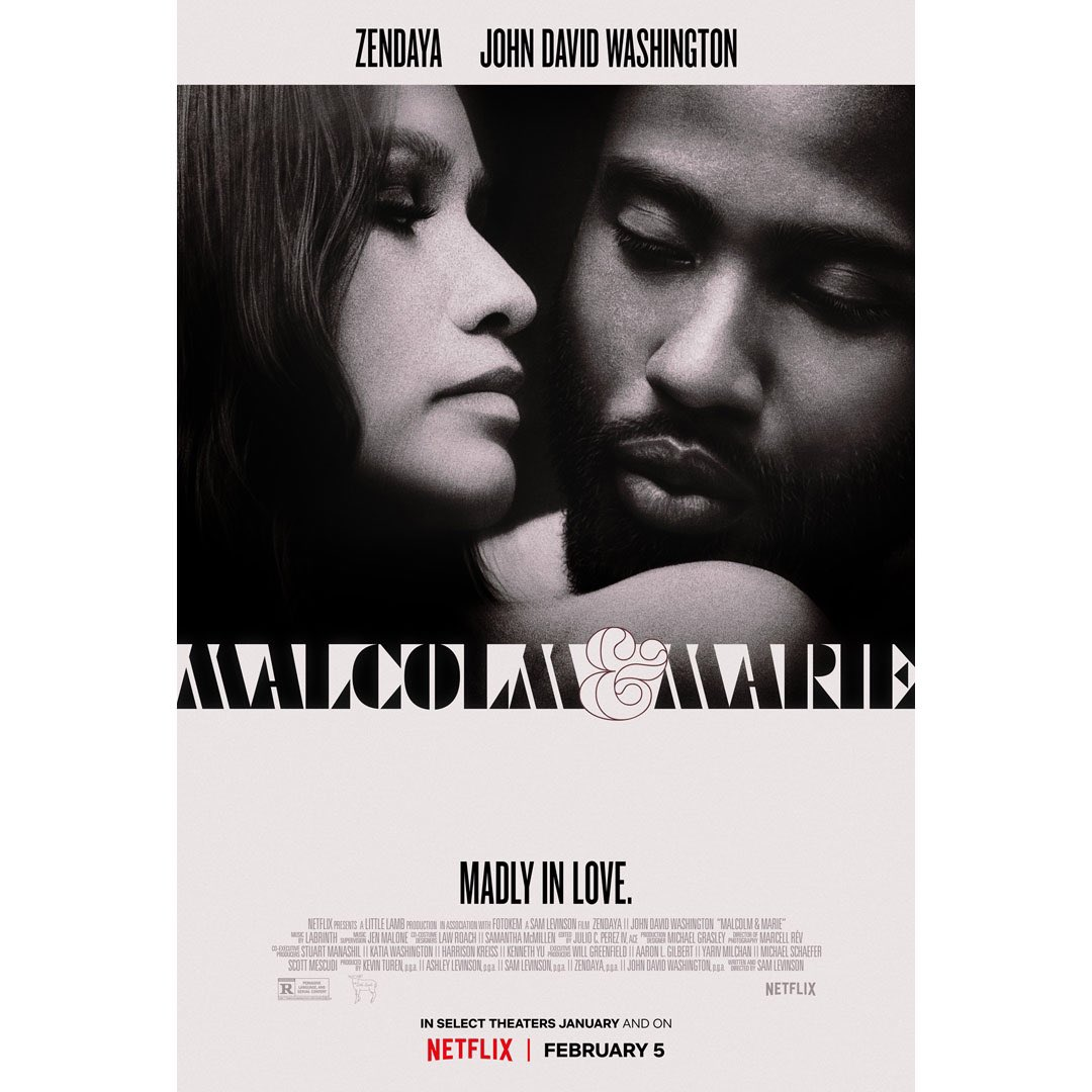 """I want to address the """"age discrepancy controversy"""" from @malcolmariefilm.   Zendaya was playing someone her age, and John David was playing someone older, perhaps his age. It didn't feel smarmy or gross. Once you're in the film, you don't even think about it. #MalcolmAndMarie"""