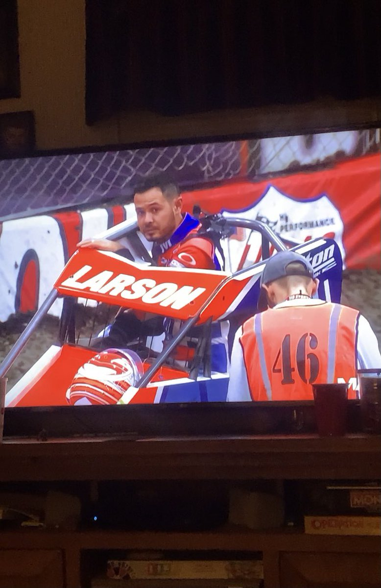 Let's go @KyleLarsonRacin 🏁🏁 #ChiliBowl2021 #MAVTV