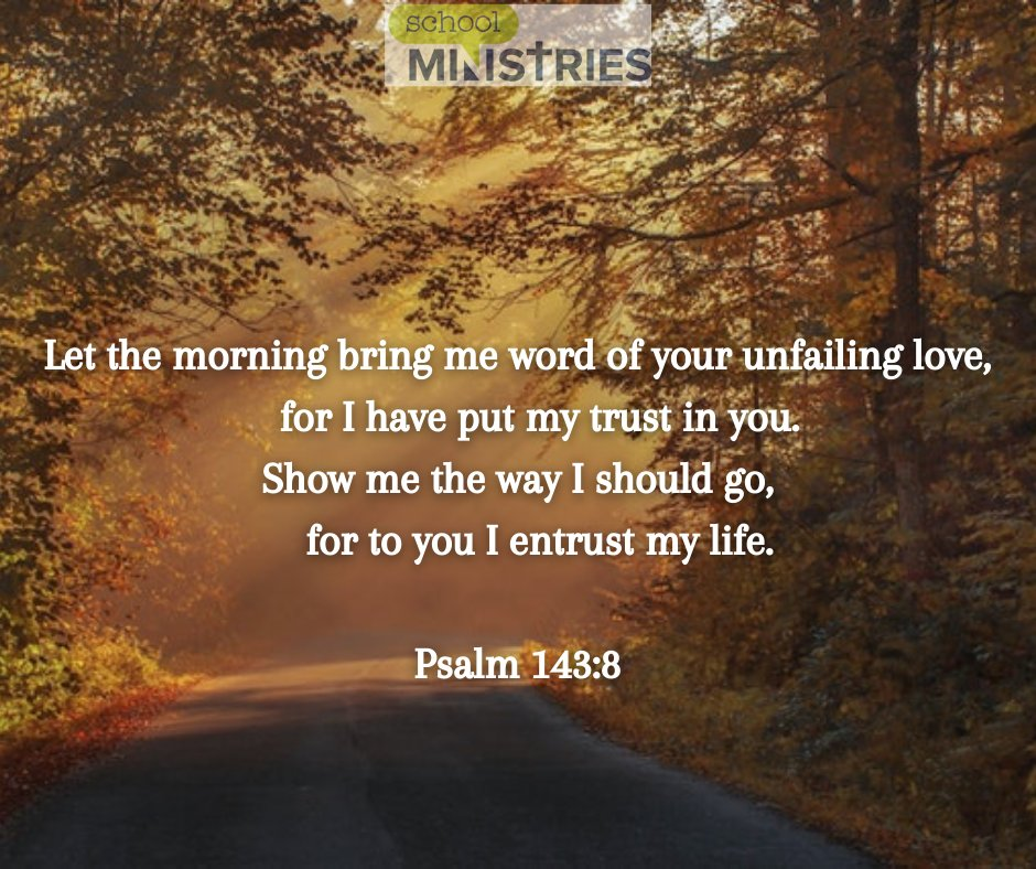We hope your morning today is filled with the Lord's unfailing love! #SundayMorning #SundayThoughts #Love #GodsLove