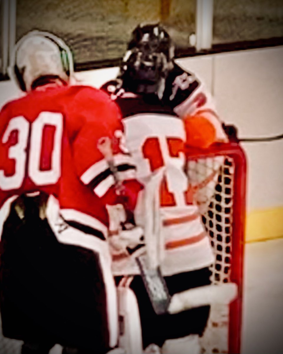 Osseo vs. Coon Rapids Goalie with kind words for my son.  #sportsmanship #ThisIsHockey #number30 #BeProud #Amazing #number17 @osseo_hockey  @MSHSL @FollowThePuck @CCXSports