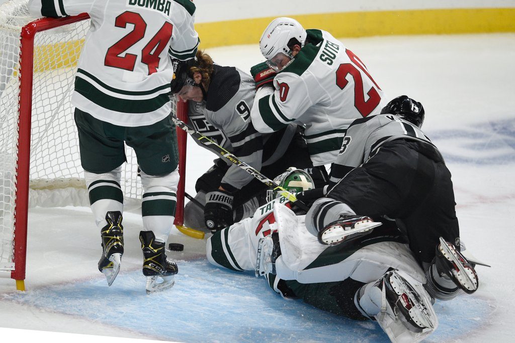 Wild battle back once again to earn 4-3 win over Kings  #MNWild
