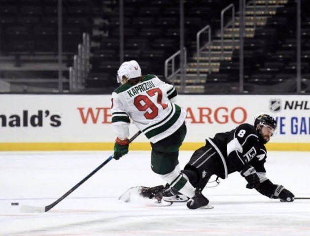 The #mnwild now got the key OT assist from Kaprizov.. the filthy Russian sent the puck to the open man for the win.. special player