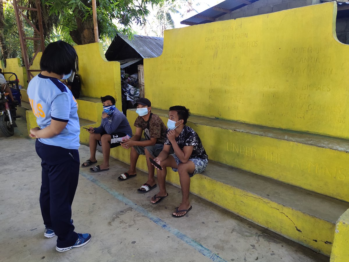 Personnel of Bangued MPS led by PLT AGUSTINA P BRINGAS, C, MCAD PCO, had a barangay visitation at Brgy.  Malita,  Bangued,  Abra with the assistance of BPATs.  Likewise, had a lecture on PROJECT READY, and ELCAC  to the youth  thereat #TeamPNP #PNPKakampiMo #ToServeandProtect