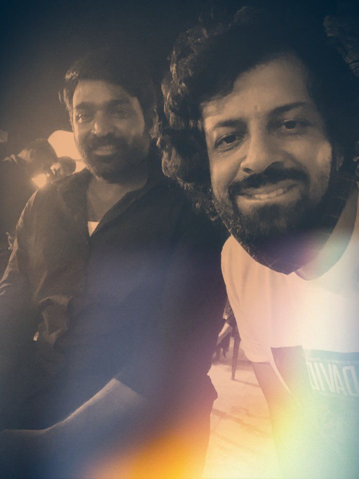 Happy happy birthday to one of our FINEST! @VijaySethuOffl It was such a wild ride working with you ! I cherish our every meeting & conversation & look forward to seeing you sooon ! Have a GREAT year ahead sir !
