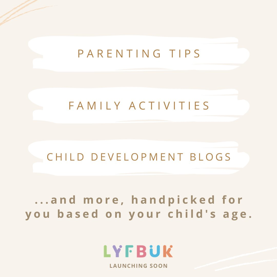 With #LYFBUK, you're never alone in your parenting journey. #parenting #family #kids #love #children #baby #momlife #mom #parenthood #motherhood #babygirl #parentingtips #maman #life #happy #babies #familytime #mother #child #parents #babyboy #parent #dadlife #pregnancy