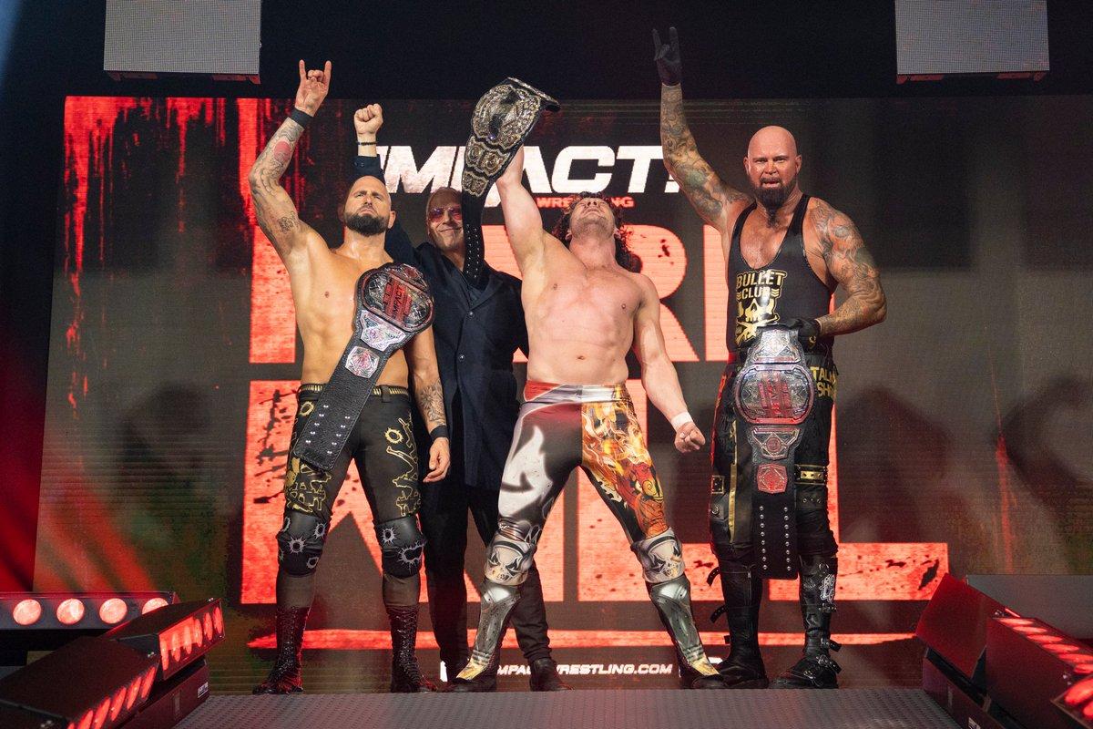 Llegan los jumbitos y todo el análisis en caliente de IMPACT Wrestling #HardToKill   Don @WMTheLoneWolf con la review 🐘🔥👇