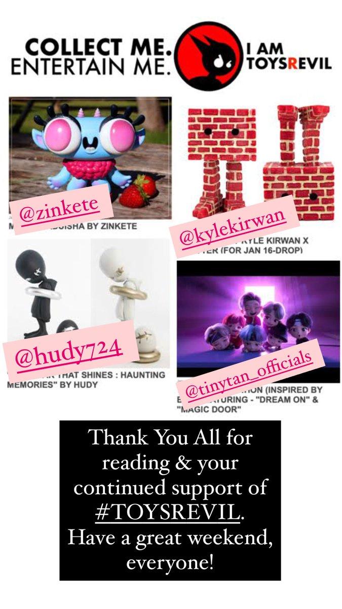 #toynews #onTOYSREVIL:  on #January 16.2021!  Thank You for reading/reposting/sharing #TOYSREVIL!   #designertoy #toyblog #toysblog #toyblogger