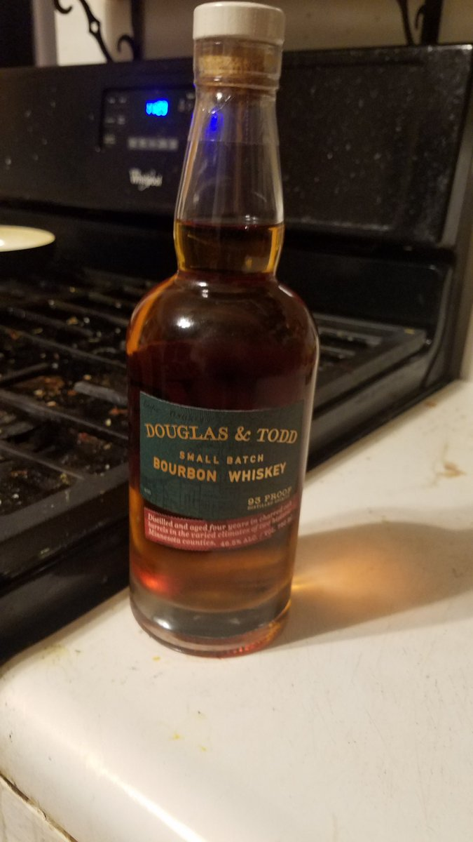 I think the #MNWILD win calls for a nice #bourbon  #douglastodd  #delicious