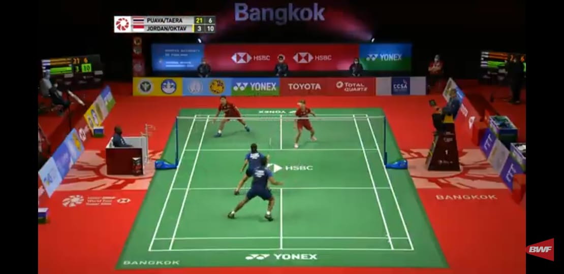 2 wakil Indonesia masuk Final Thailand Open 2021, salah satu kelas turnamen tertinggi BWF (1000).   Kita doakan Juara! https://t.co/Si8ImE8z6A