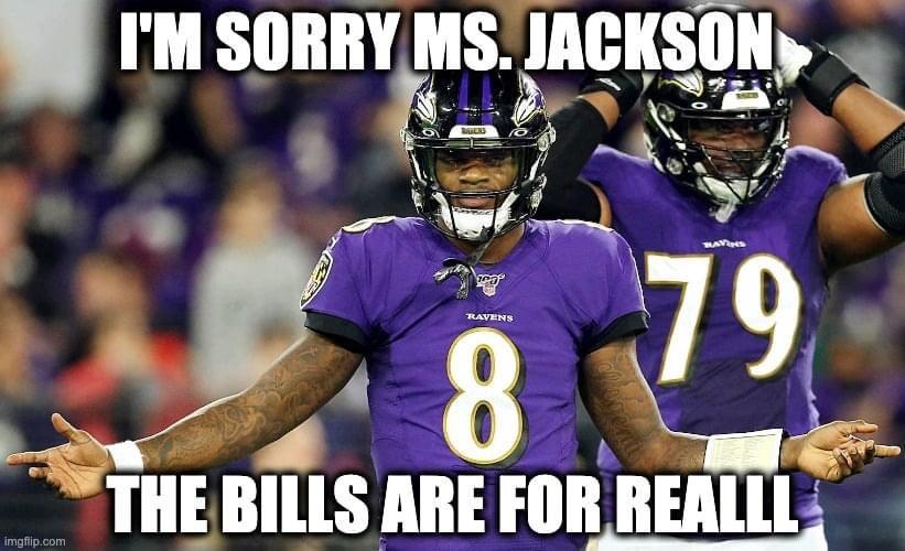 🤣 #RavensFlock #BillsMafia #BALvsBUF #NFL #NFLTwitter #NFLDivisional #NFLPlayoffs @BuffaloBills @Ravens @NFL