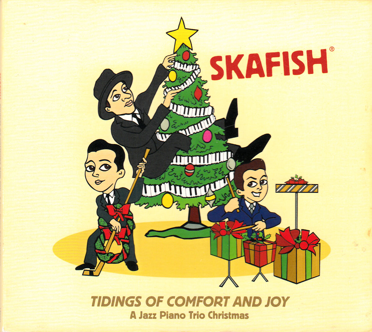 It's real holiday jazz with real musicians, all cut in 1-4 takes!  #holidaymusic