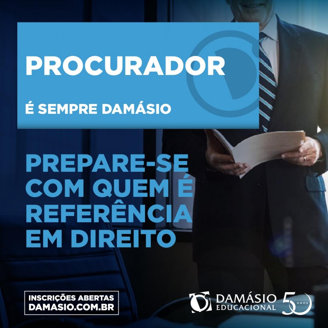 Para os candidatos que desejam se preparar para o concurso das Procuradorias Estadual e Municipal, o Damásio oferece cursos específicos para a primeira e para a segunda fase. 👊  (18) ☎ 3301-2939 / 📱 99141-8872.  #Procuradorias #Municipal #Concurso #Damásio #Araçatuba #Birigui