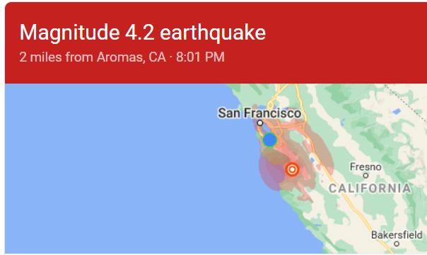 2021, ma man.. don't. #earthquake