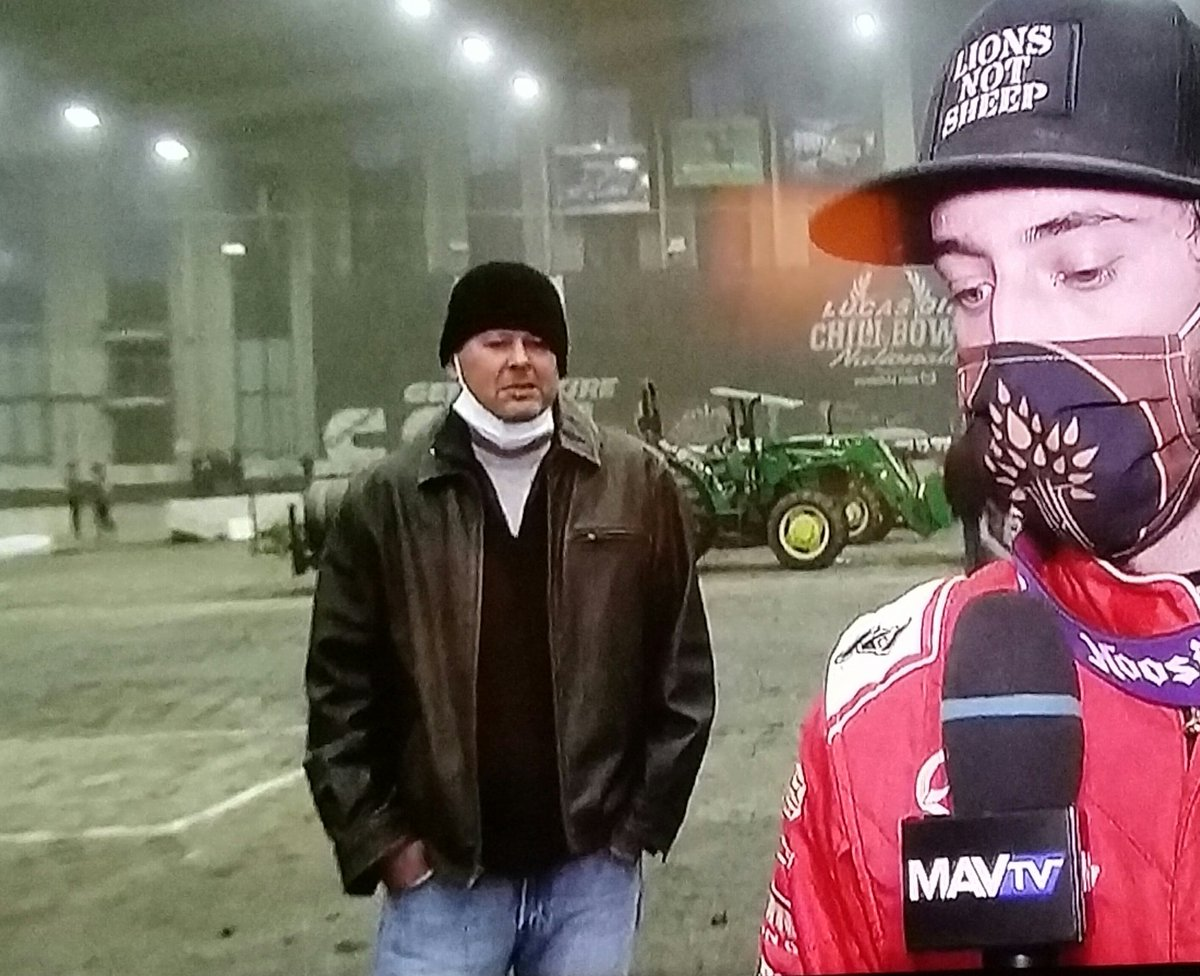 The #SuperSpreader Guy! #ChiliBowl2021
