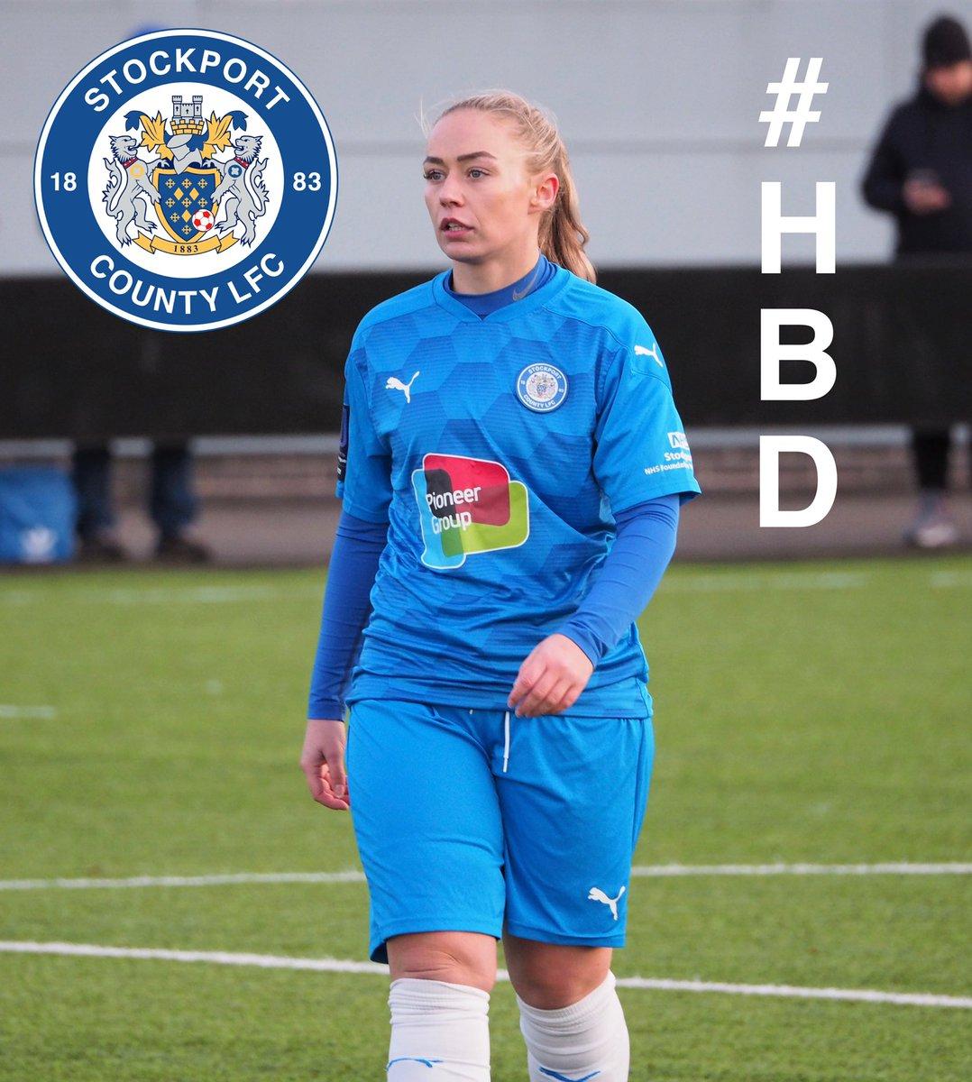 HAPPY BIRTHDAY : Happy Birthday to Our Development Team midfielder and Vice-Captain, Missy Von Bargen @MissyVonBargen_   Have a Great Day! 🥳🎂🍾🥂🎁🎉  🔵⚪️🎩 #UTH #FAWNL #HBD #womensfootball