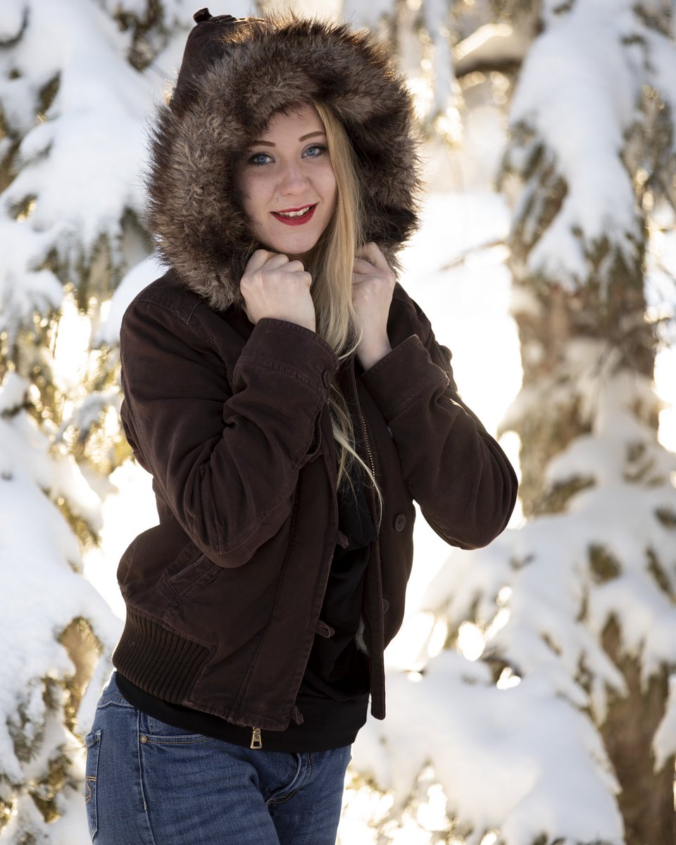 We can find happiness in every season, indoors, or out, and capture it for all time. Create some stylish joy for yourself this year, to share fat and wide, or just decorate your sanctuary. #winter #fashion #portrait . Model: Meagan Wieringa
