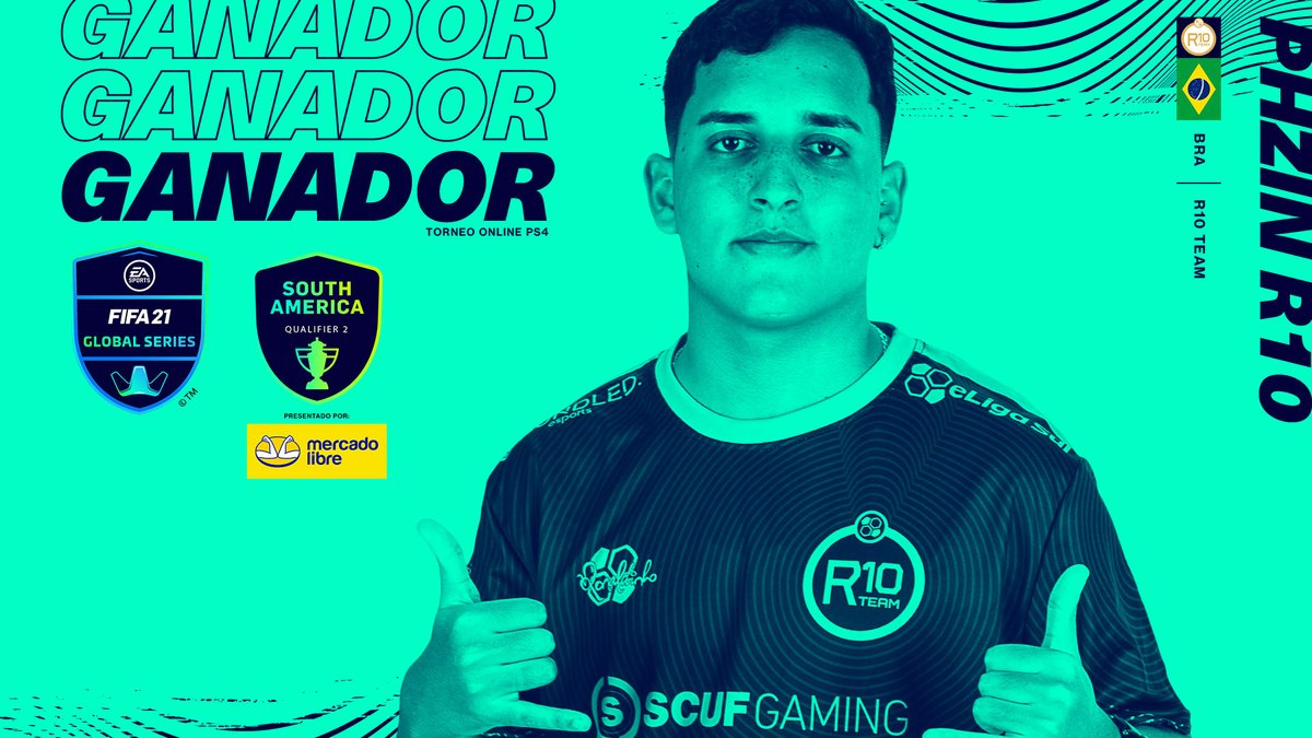 INCREDIBLE! 😯  @PHzinR10 🇧🇷 wins the Xbox South America Qualifier and becomes the first #FGS21 back to back to Champion! #FGS21