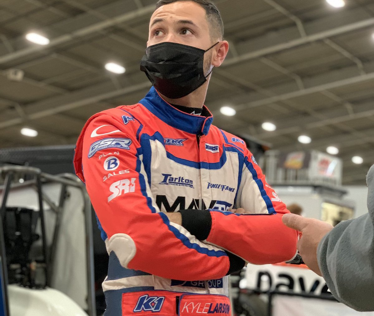 #ChiliBowl2021: Larson dominates for 2nd Career Chili Bowl win.  More:   #ChiliBowlNationals | #KyleLarson