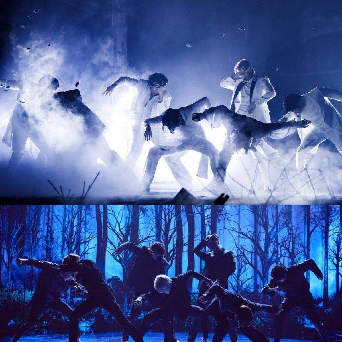"Happy 1year to this iconic masterpiece ✨🥰🥳 ""BLACK SWAN"" #1YearOfBlackSwan #BTS"