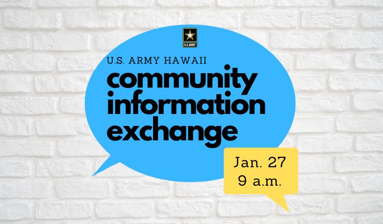 You're invited! Join us Wednesday, Jan. 27 at 9 a.m. for our virtual #CommunityInformationExchange, or CIE.   See #thread for more details.