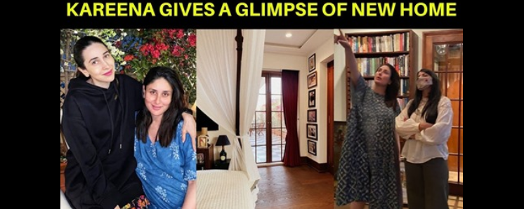 #KareenaKapoorKhan surprised all her fans after she shared a stunning picture of the bedroom in her new home