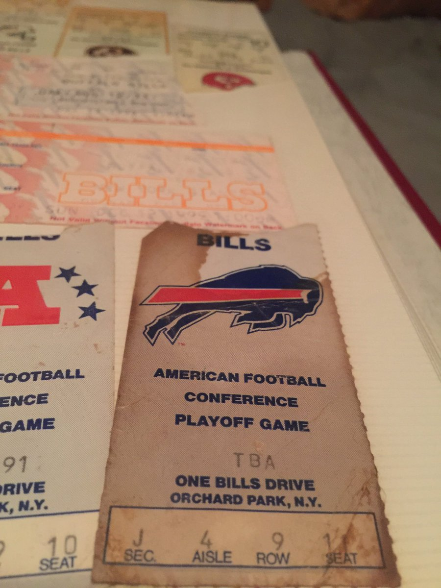The last time the Bills played in the AFC Championship? I was there.  Kansas City vs Buffalo. (Joe Montana's last game.)  So wild that was the last time.  Finally back in it. Wow. #BillsMafia #LetsGoBuffalo  @BuffaloBills #AFCDivisional #AFCChampionship