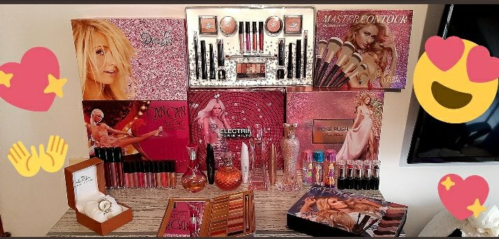 My Paris Hilton Collection ❤😍 48 products!!!!!! I LOVE YOU since I have 10 years old  @ParisHilton, Thats Hot 🤩 Sliving, My role model💜
