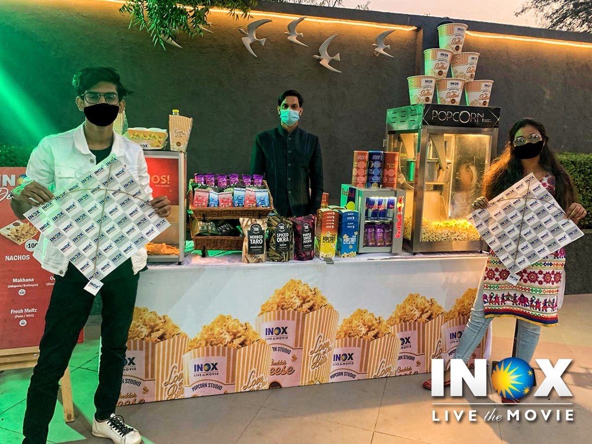 #INOX celebrates the Kites Festival all across India! #CinemasAreBack!