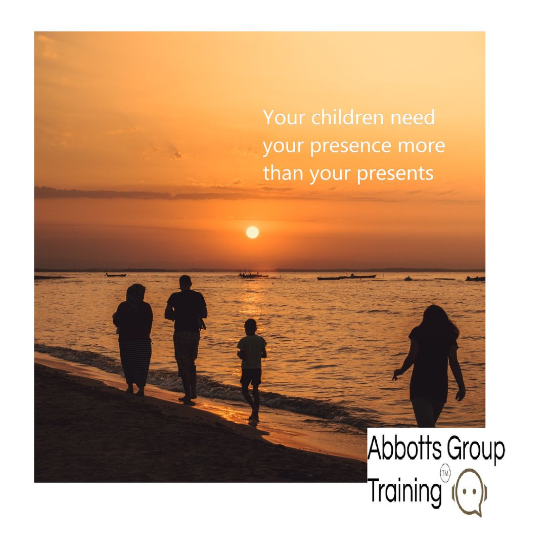 Think back to your childhood, do you remember the fun times or the gifts? We have worked on spending more time with the family by adding digital free weekends – making memories together #Family #qualitytime #NewYearNewYou #AbbottsGroupTraining