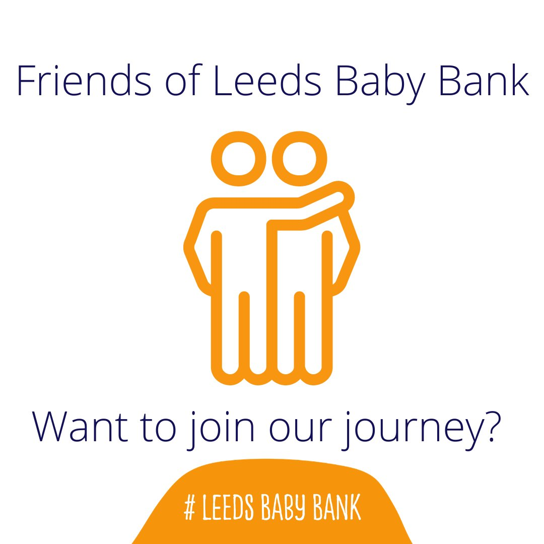 Want to make a difference, and support families in crisis in the city of Leeds? Become a Friend of Leeds Baby Bank, and  be part of our mission to ensure #NoChildGoesWithout Head to: and receive your exclusive Leeds Baby Bank Trolley Key! #Leeds #Family