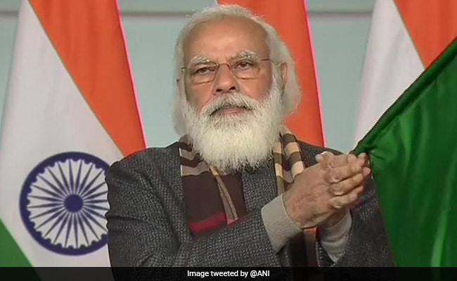"""Replying to @ndtvfeed: """"Historic Day!"""": PM Flags Off 8 Trains From Statue Of Unity To 7 Cities"""