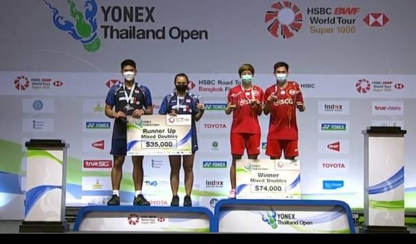 Final BWF Thailand Open 2021: Praveen Jordan/Melati Daeva Oktavianti Gagal Raih Gelar https://t.co/2jqEEgrISs https://t.co/VZWkDuo9zd