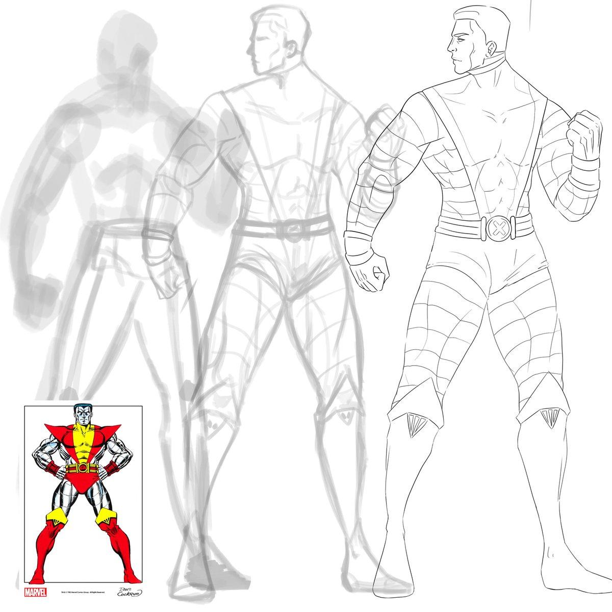 Progress #marvel #marvelcomics #fanart #art #drawing #colossus