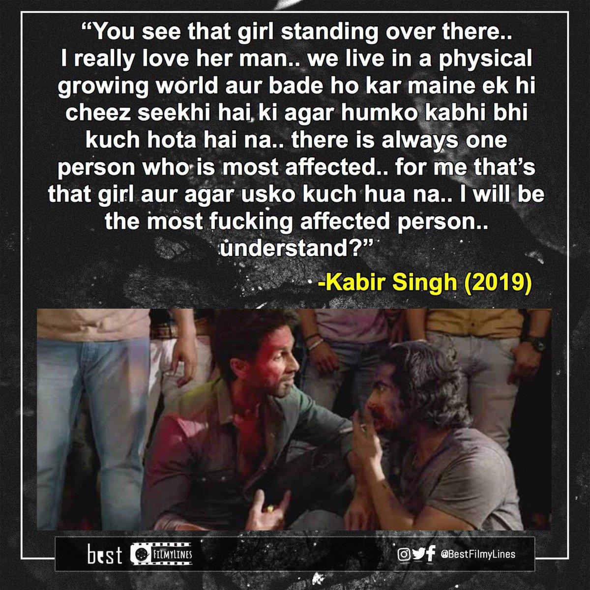 -Kabir Singh (2019), dir. Sandeep Reddy Vanga  #bollywood #bollywoodmovie #bollywoodmovies #bollywooddialogue #indiancinema #hindi #hindimovie #dialogue #dialogues #quote #quotes #rvcjinsta #bestfilmylines #kabirsingh #shahidkapoor