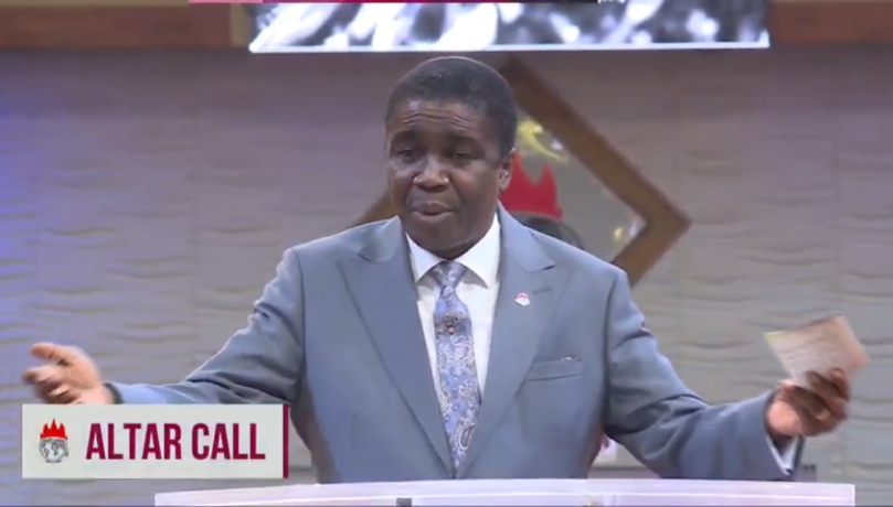 ALTAR CALL #LFCLiveService #Day14 #CovenantDayOfExemption #AnointingService #1stService