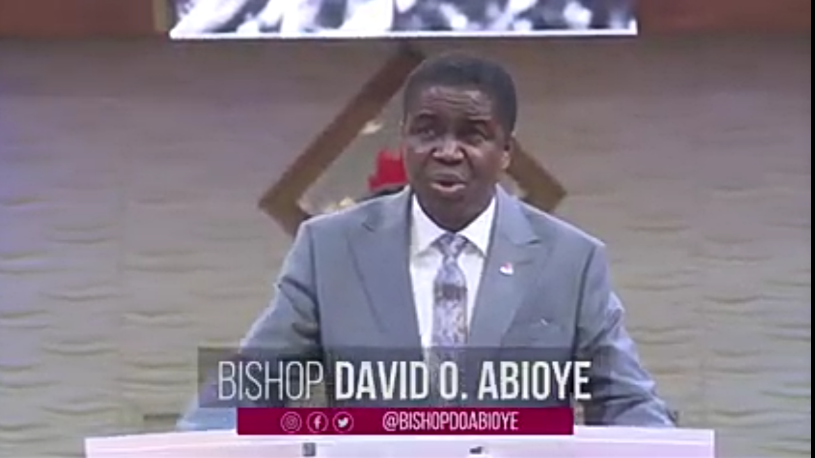 The last of everything is the best of everything... Bishop David Abioye #LFCLiveService #Day14 #CovenentDayOfExemption #AnointingService #1stService