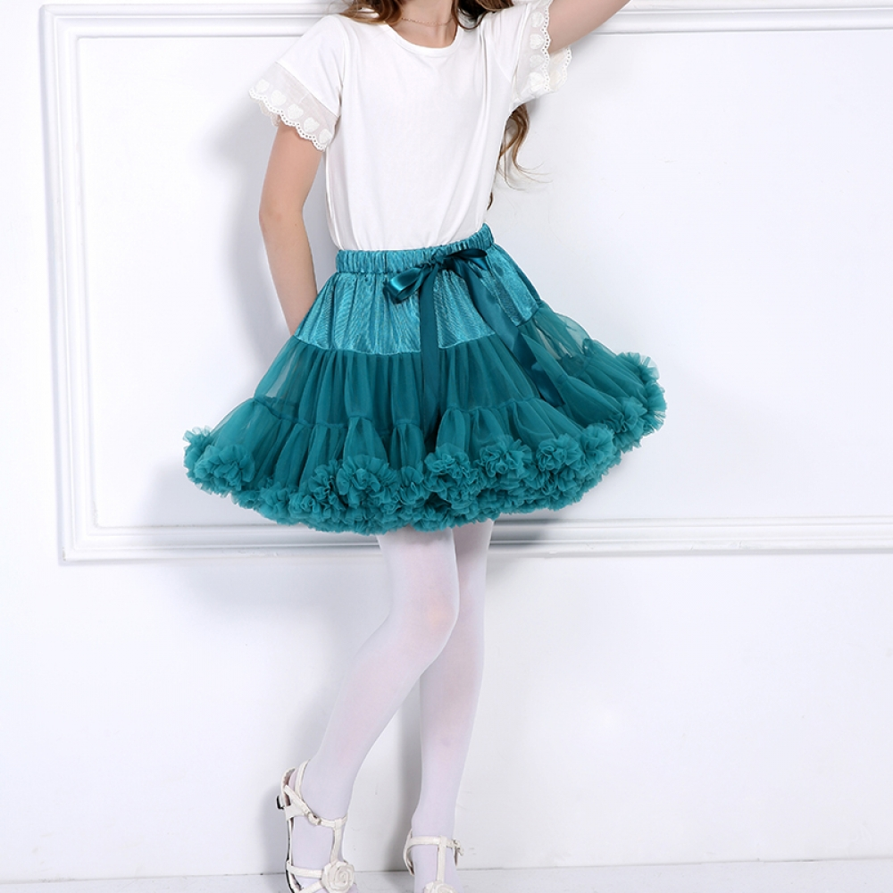 #style #love Cute Girl's Fluffy Tutu Skirt