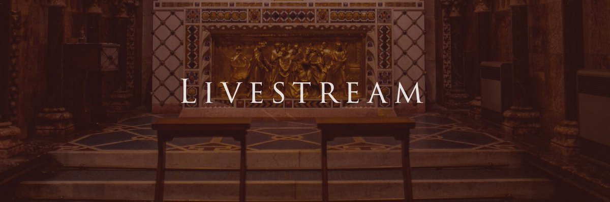 Looking for a #Mass today?  Why not join Farm Street Church for a livestream Mass today?