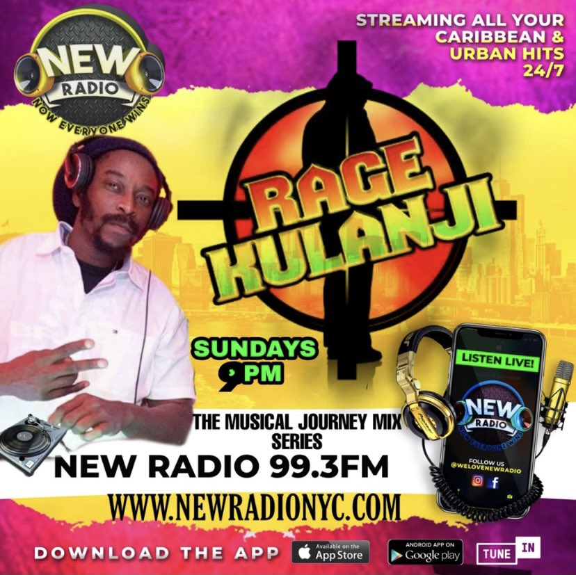 NEW TIME  Don't Forget Sundays @ 9pm The Musical Journey Mix Series In Live Format #2   Radio Dial: 99.3 FM #NewRadioNYC  Website:   TuneIn App:    #Kaiso #Calypso #SteelBand #LiveInConcert #SlowJams #AnythingGoesHour  #BeLegendary